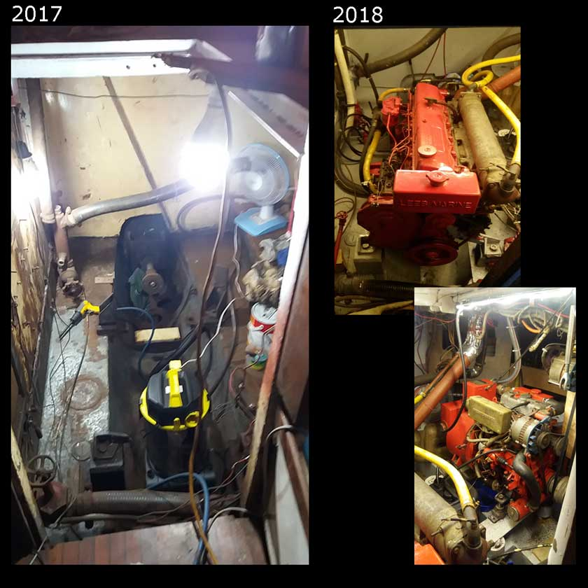 the refit : the engine room 2