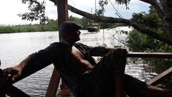 Tom, Klias river