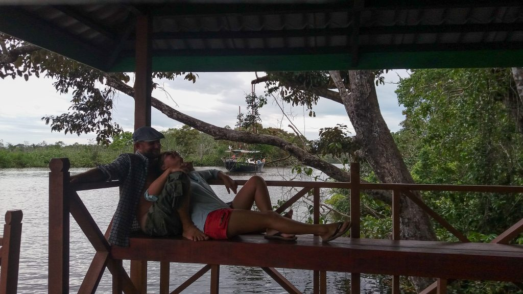 Tom & Emma, Klias river, Borneo 2018