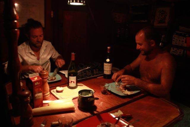 Pierre & Tom's dinner